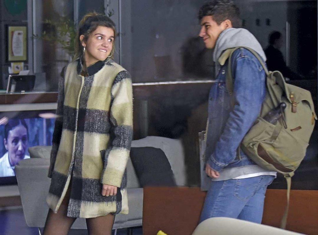 'Amaia y Alfred pasean su amor por Madri...