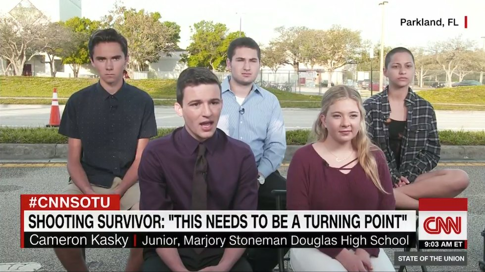 Aide to Florida GOP lawmaker accuses students who survived school shooting of being actors https://t.co/KSkmGCd34Y