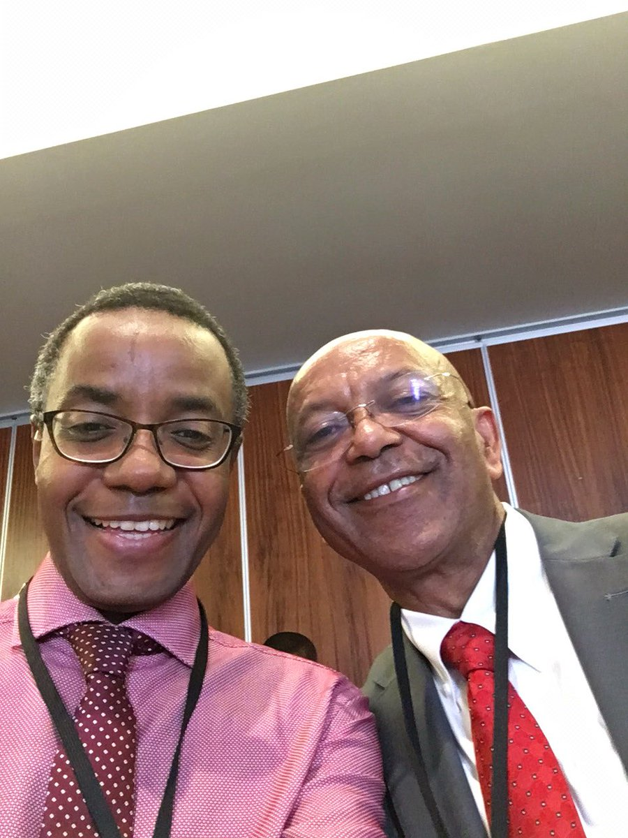 With my friend Wondi at COP18