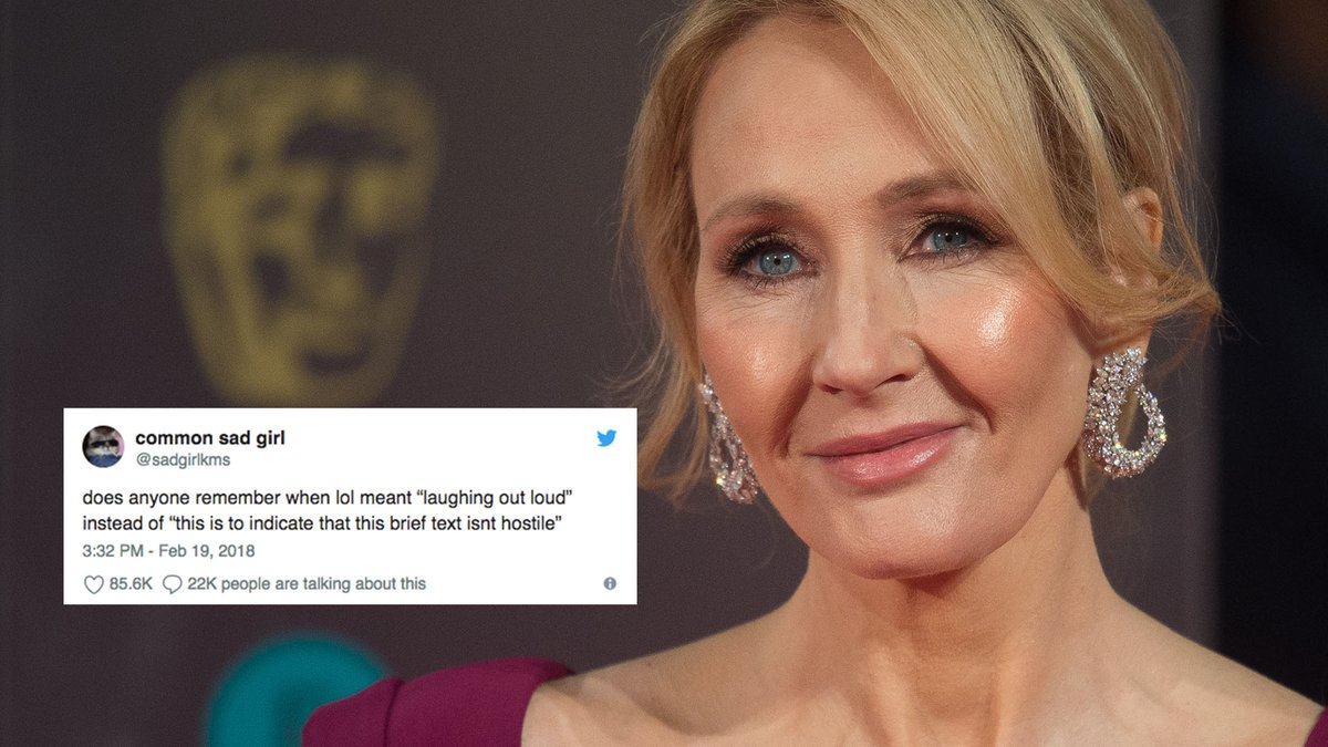 Here's 1 emoji you definitely shouldn't tweet at J.K. Rowling https://t.co/AenCFHMTto