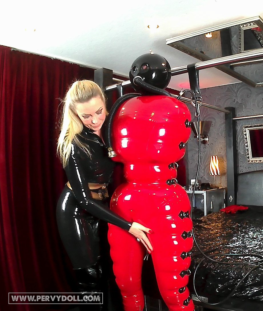 Breathplay in Total Bondage Catsuit - Pt...