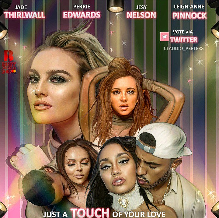 We're loving this #TOUCH artwork by @Claudio_Peeters 🙌 The 'British Video' vote re-opens tonight during the show! Are we ready? 👀 LM HQ x