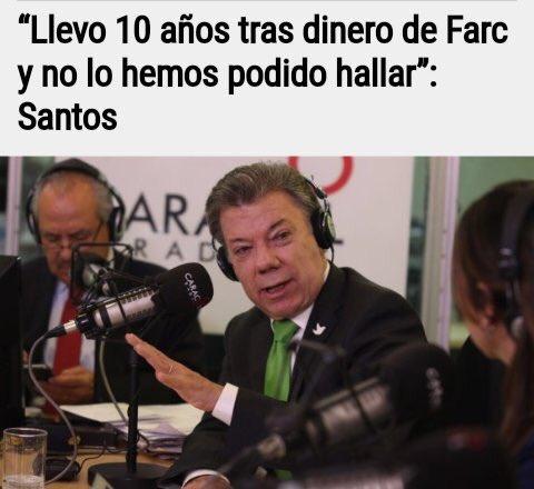 Otra mentira de @JuanManSantos que se cae, pues no dejan de aparecer bienes de estos bandidos. Como cuando dijo: si las Farc manifiestan que ya no tienen secuestrados hay que creerles. El rey de los mitómanos.