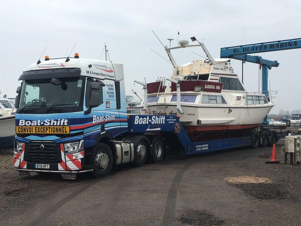 Boat-Shift Transport on Twitter: