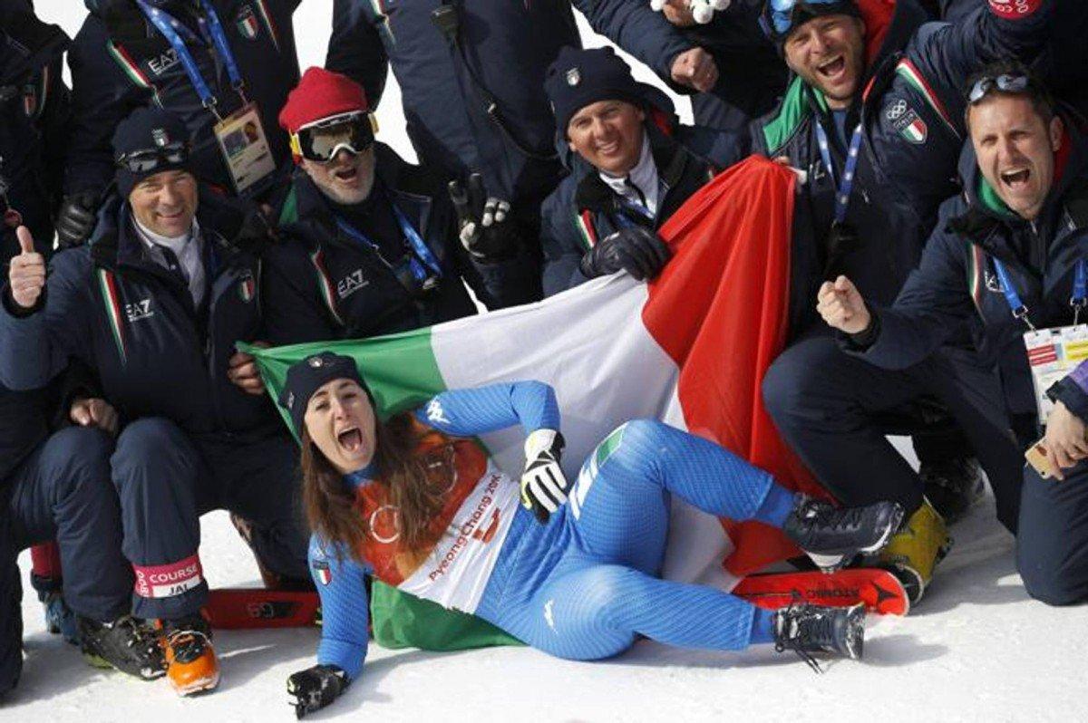"""Olimpiade, Sofia Goggia è oro nella discesa libera: """"Esploderò quando me ne s ... - https://t.co/L0RekaTJT4 #blogsicilianotizie #todaysport"""
