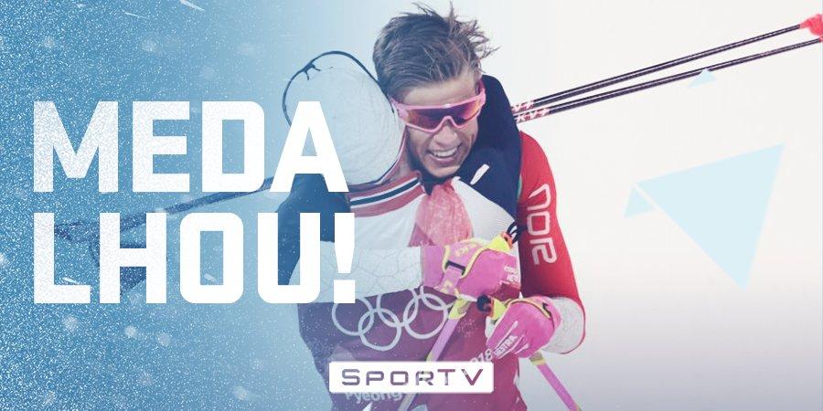 Tem medalha de ouro para Noruega no esqui cross-country! 🥇  📸 AFP #oInvernoÉNosso   #OlimpíadaDeInverno