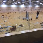 Image for the Tweet beginning: Testing Robots for Mars while