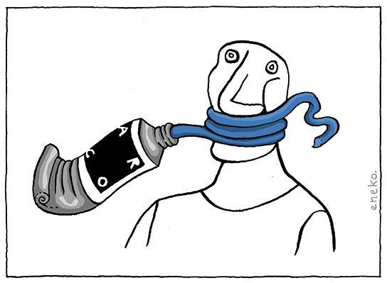Esto no es una pipa. Estos no son presos políticos. Esto no es censura. A 'Santiago Sierra' #ARCO