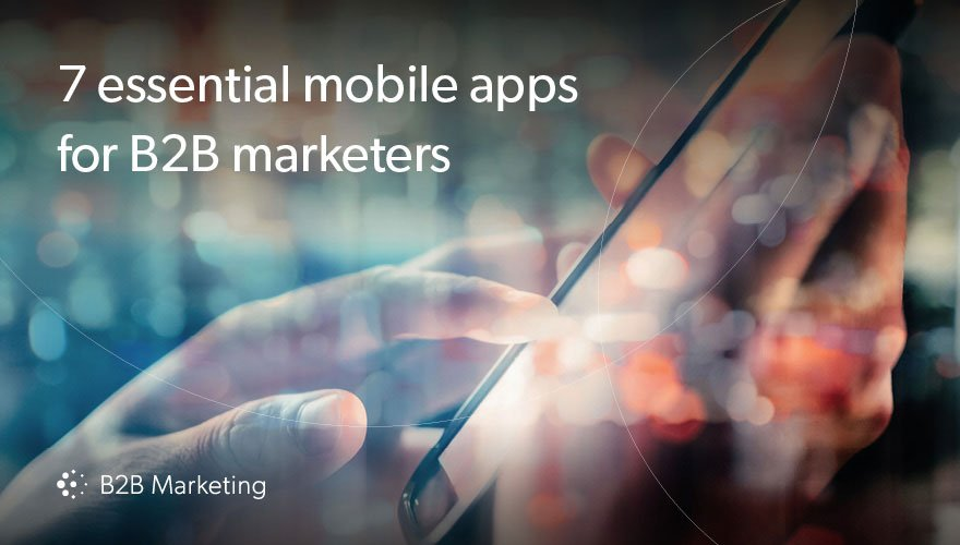 7 must-have mobile apps for marketers.   See the full list: https://t.co/feQpGuQl48 https://t.co/s62QtSKhyM