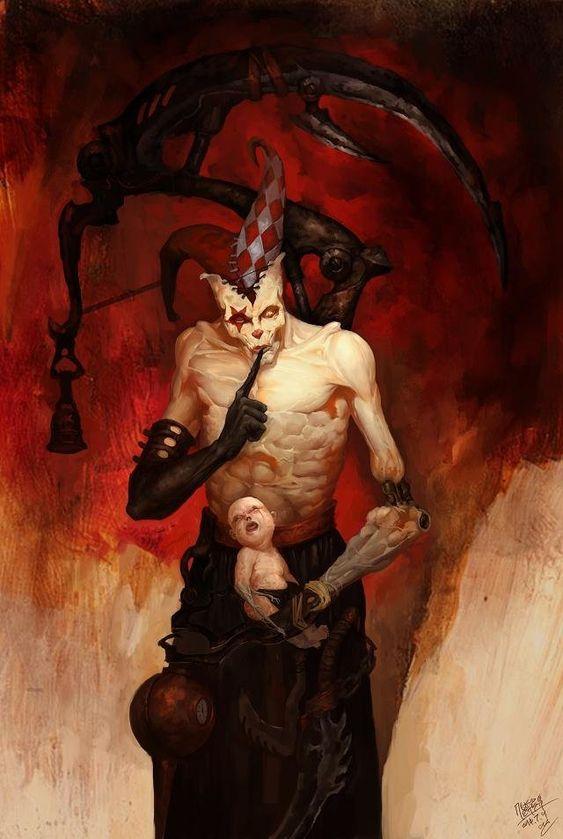 Nightmare Monster Fantasy Art