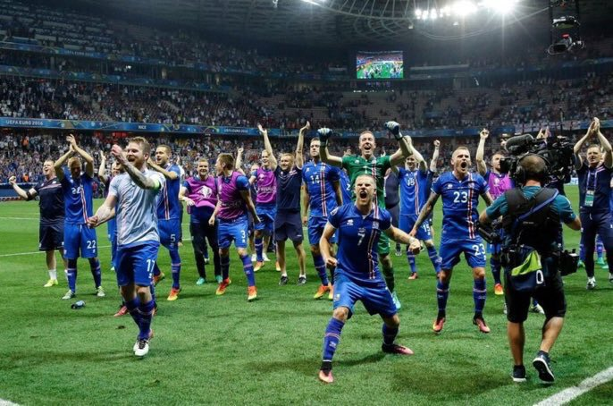 66,000 Icelandic 🇮🇸 fans have requested tickets for the 2018 FIFA World Cup  That is 20% of their entire population.