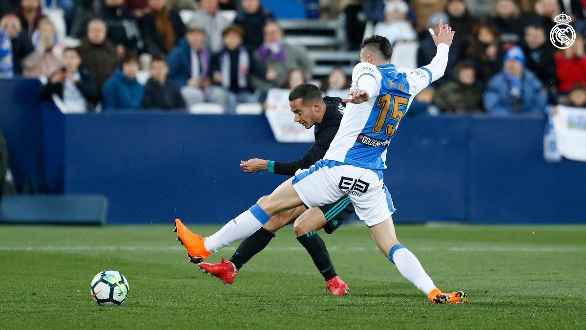 هدف ريال مدريد الأول في ليغانيس