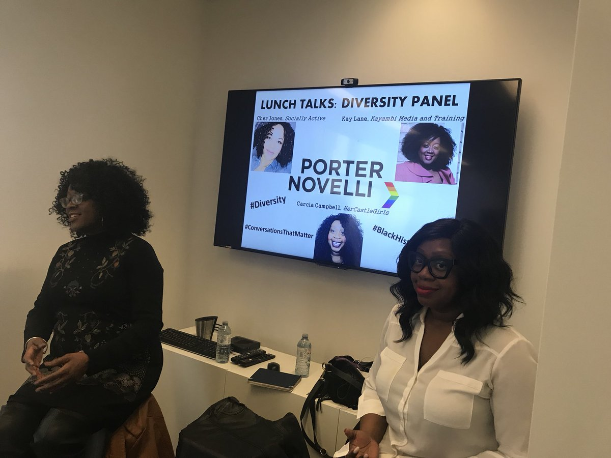 Cher Jones Your Corporate Social Media Trainer On Twitter It S Almost Go Time The Diversityandinclusion Talk Is Not Always Easy But It S Always Necessary We Re Hanging At Porternovelli To Start This
