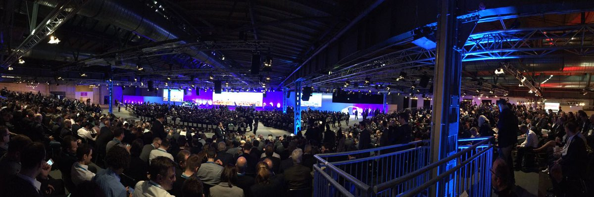 A great experience to see Bosch Connected World providing the right inspiration, education, and connections you need to thrive in #IoT and #AI today!  #ConnectedCars #ConnectedMobility #BCW #BCW18 <br>http://pic.twitter.com/S0sSqp56mA