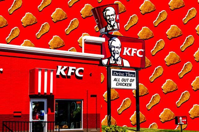 KFC's chicken jokes are fried. https://t.co/4lCddpnROj https://t.co/uy41Cy8Hy5