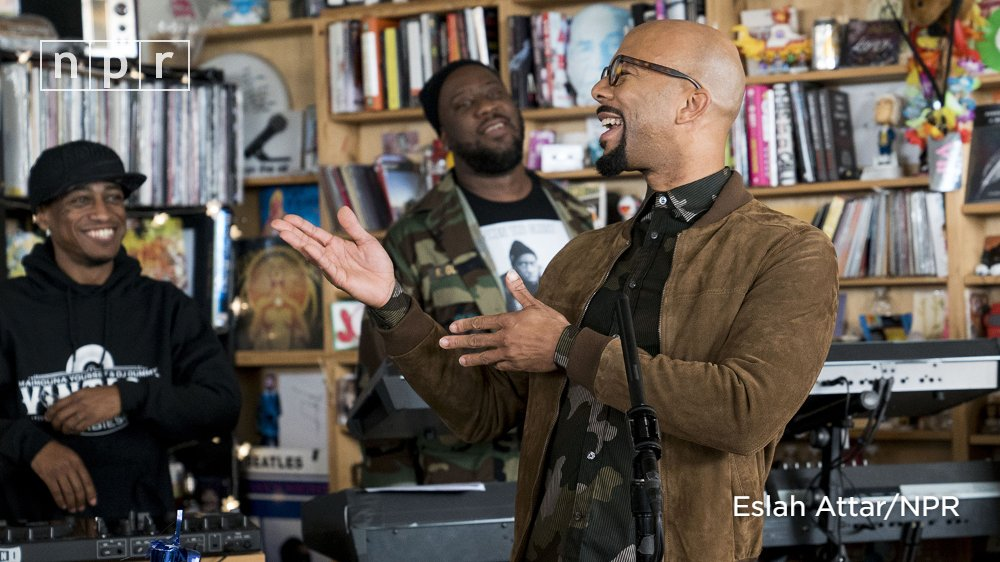 Rapper Common, pianist Robert Glasper and drummer Karriem Riggins have  formed a new band called August Greene. This has not happened outta nowhere  though.