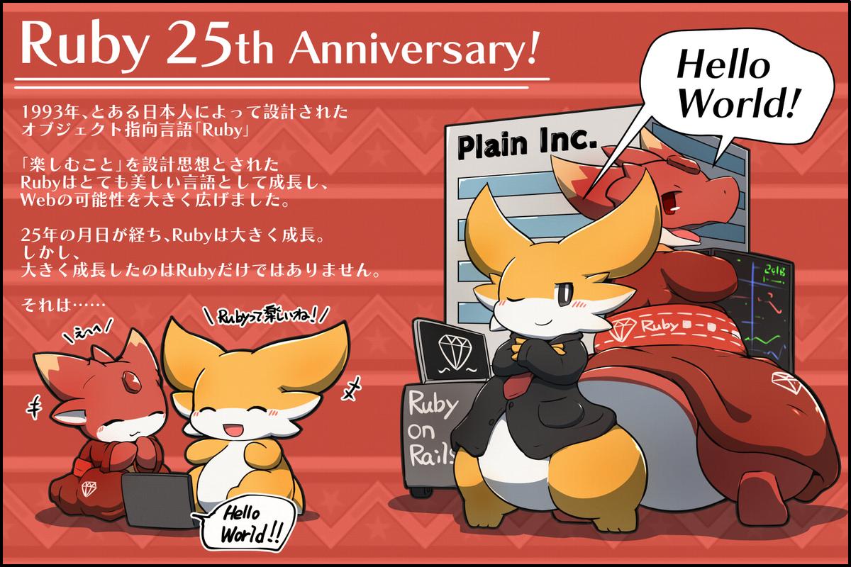Rubyくん25歳のお誕生日おめでとうございます! #擬竜戯画 #ruby25t...