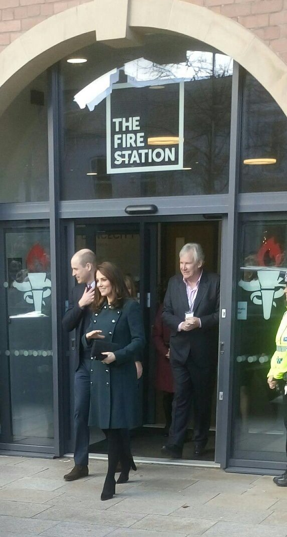 #RoyalVisit #Sunderland What a great opportunity for our Sunderland Learning #CuriousConnections group today! They were part of a range of performances for the official opening of The Fire Station and did a grand job! 👑🎉🎉 @ATGTICKETS