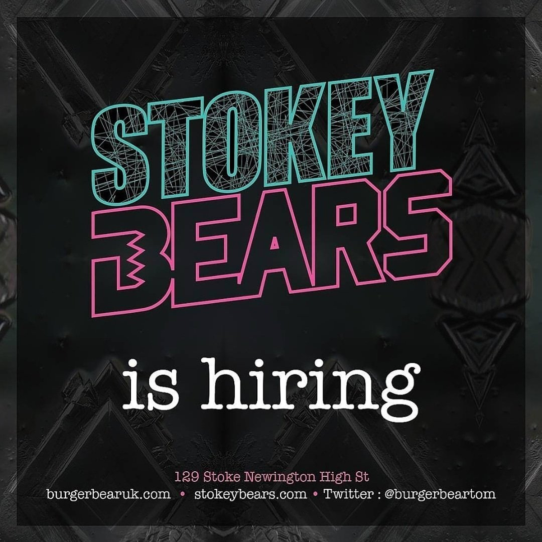 WE ARE HIRING // ALL POSITIONS FOR OUR SEXY NEW HAGGERSTON SITE GET IN TOUCH