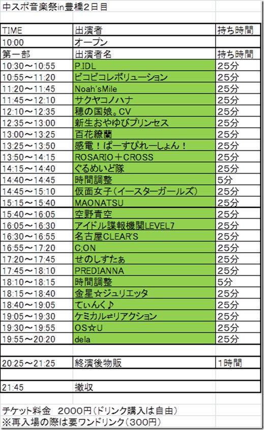 """中スポ音楽祭 auf Twitter: """"会場へのアクセスは豊橋駅からシャトル ..."""