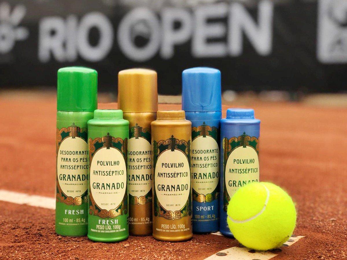 O @RioOpenOficial, o maior torneio de tênis da América Latina, começou e a gente também estará por lá! A Linha Antisséptica está com um espaço especial para você se divertir e conhecer todas as fragrância da linha. Esperamos vocês no Jockey Club Brasileiro 😉 https://t.co/76QimgdVa5