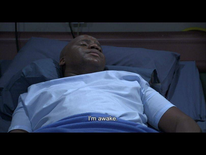 TONIGHT on #SkeemSaam  Leshole wakes up...