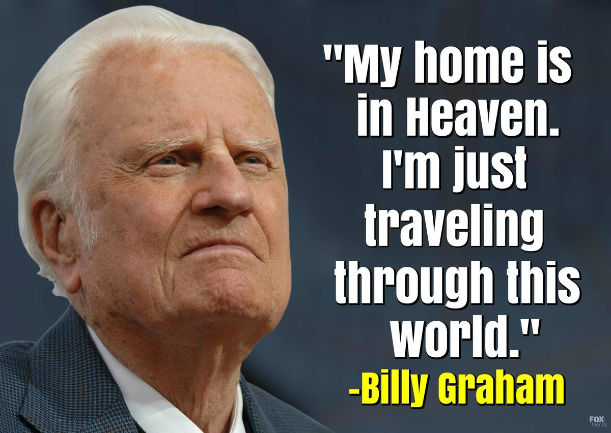 Today, we remember Billy Graham