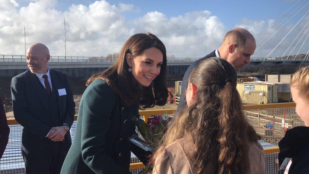 PICTURES: The Duke and Duchess are at #NorthernSpire meeting some #Sunderland schoolchildren: sunderlandecho.com/our-region/sun… #RoyalVisit