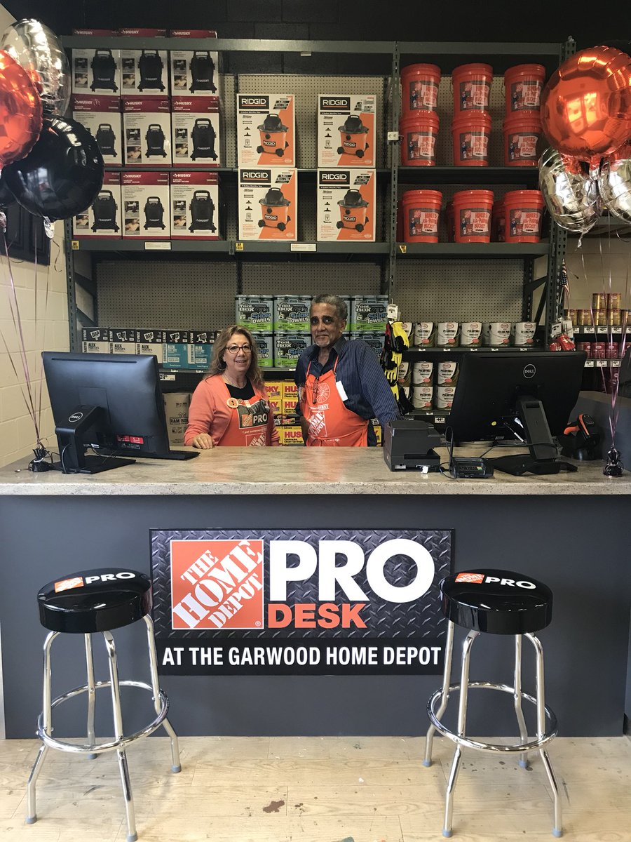 Today We Grand Open Our PRO Desk, Jodi U0026 James Are Here To Build Our Prou0027s  Businesses And Let Them Know Everything That Home Depot  Offers!pic.twitter.com/ ...