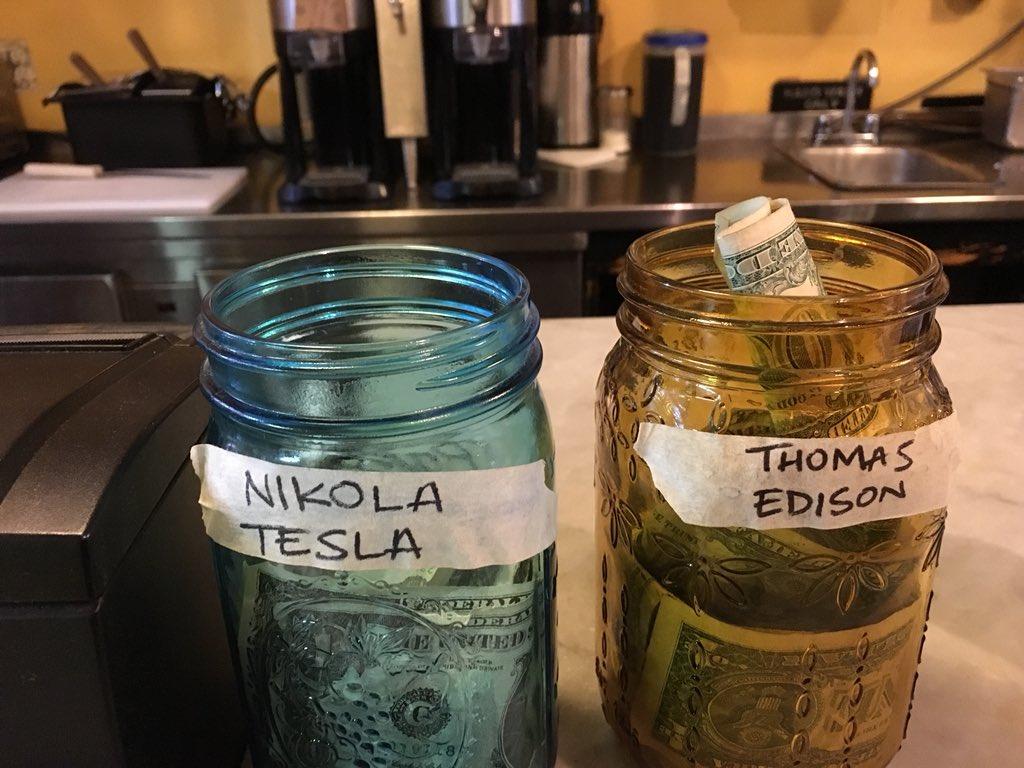 """Richard Deitsch on Twitter: """"Tip jar, Brooklyn USA:… """""""