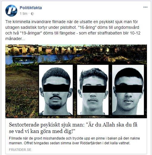 Svensk sextorterades