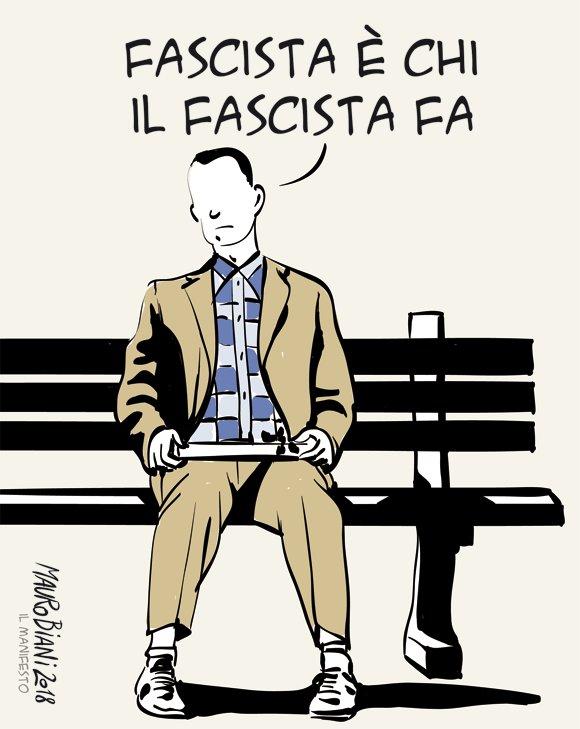 #Fascismo 'E non ho altro da dire su que...