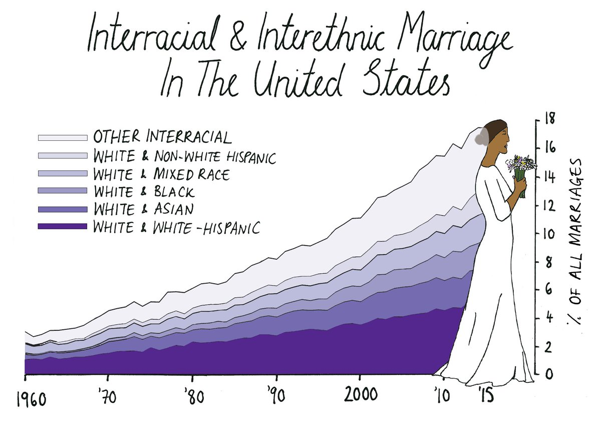 the history and patterns of interracial marriage He remembered the history of his nation, especially in his arguments concerning interracial marriage patterns of interracial marriage have been explained using social exchange theory kalmijn suggests that ethnic status is offset against educational or financial resources.