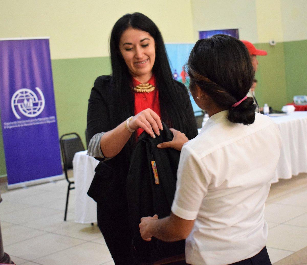 OIM contribuye a la educación de la niñez retornada a Honduras: ...