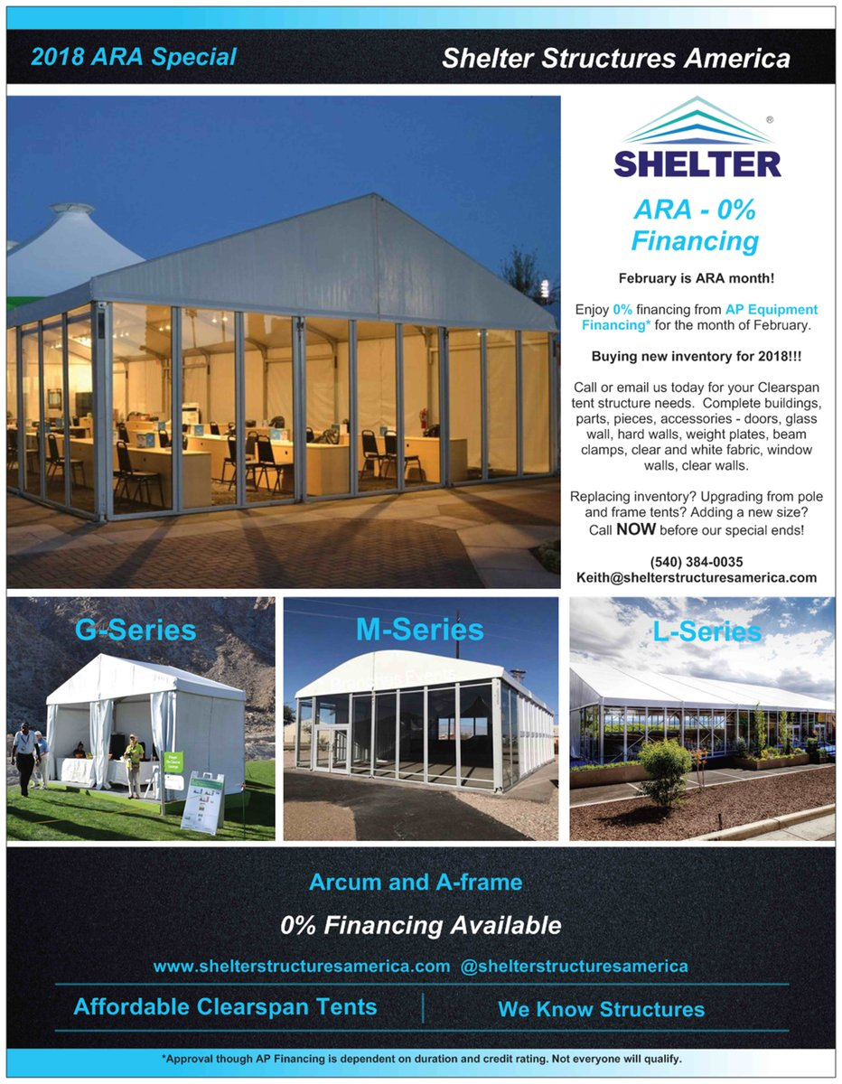 #shelterstructuresamerican #ARA #special #financing #available #February # clearspan #tent #structures #weknowstructures #affordable #tentrental ...  sc 1 st  Twitter & clearspan hashtag on Twitter