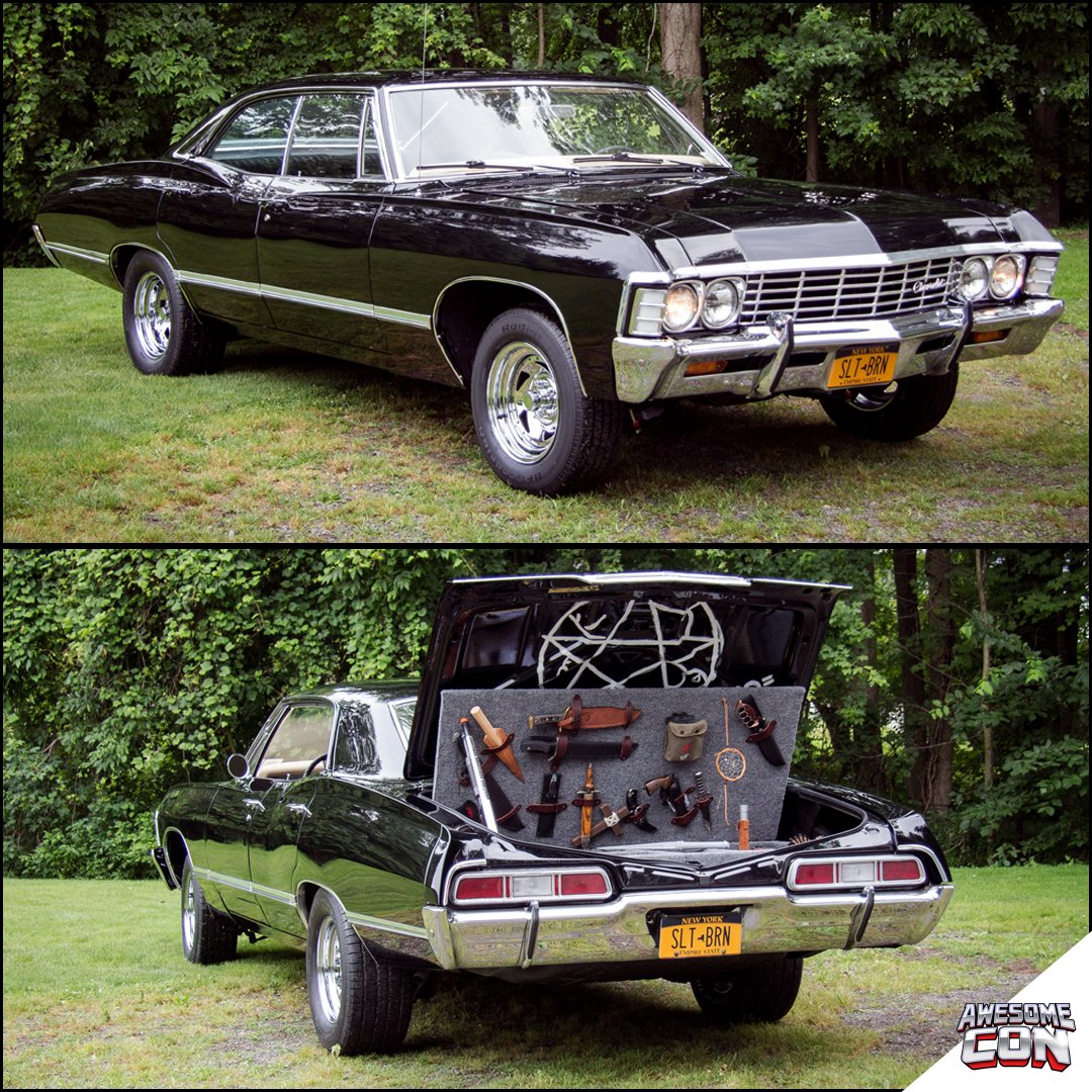 Awesome Cons Tweet Thor The Impala Is More Than A Replica Of The - Supernatural show car