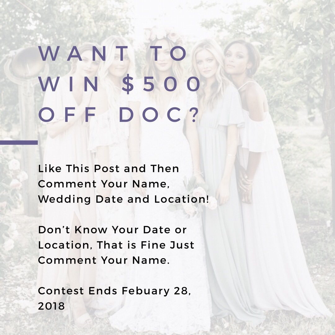 Enter to win money for wedding