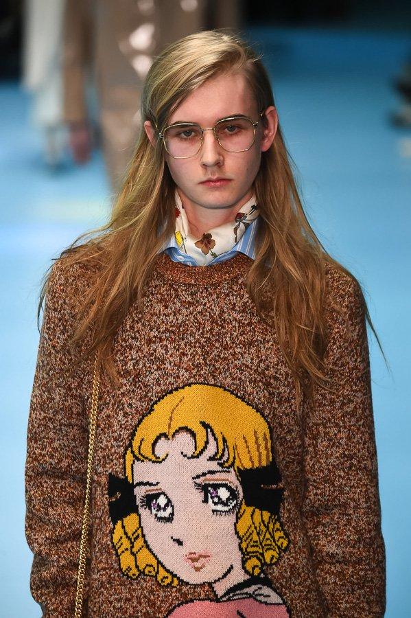 グッチ(GUCCI)が先ほどミラノで発表した18年秋冬メンズコレクション 全ルック公開  fashion-press.net/collections/90…