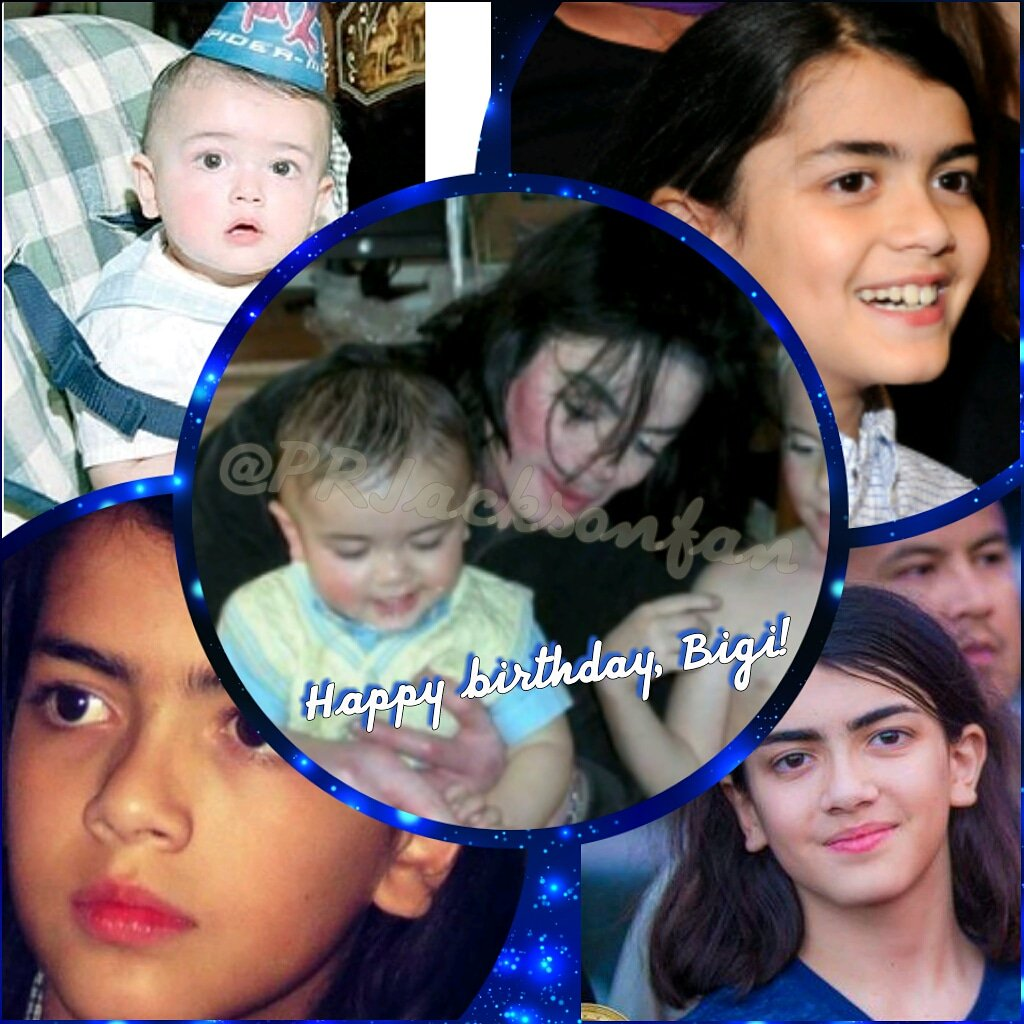 "Happy birthday, Prince Michael Jackson ll \""Bigi\"""