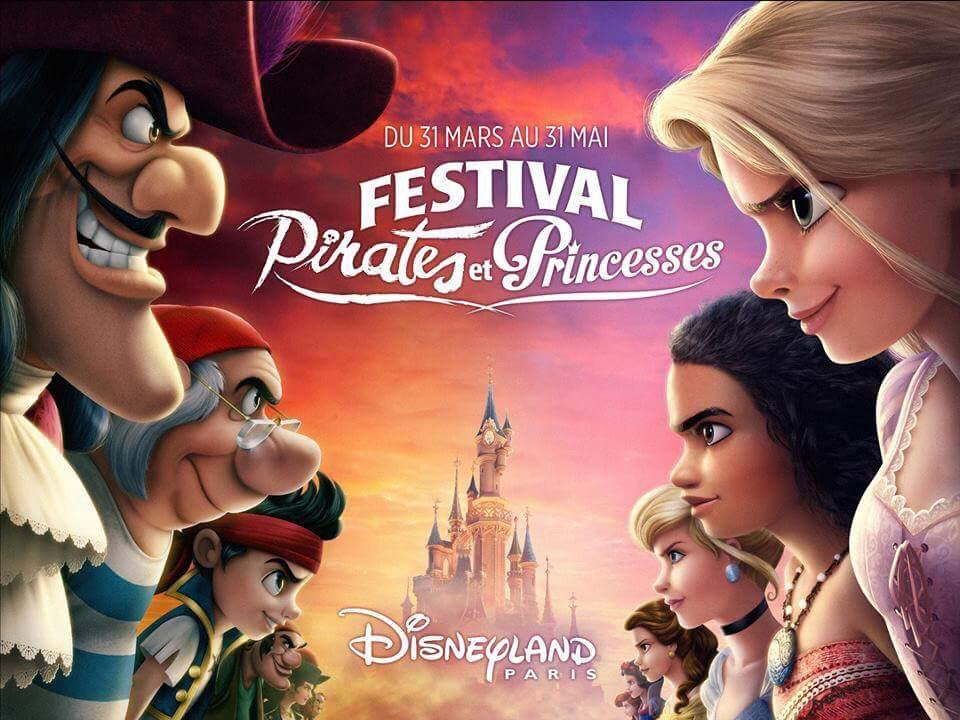 New logo and visual for the Festival of Pirates and Princesses  ☠️+👑