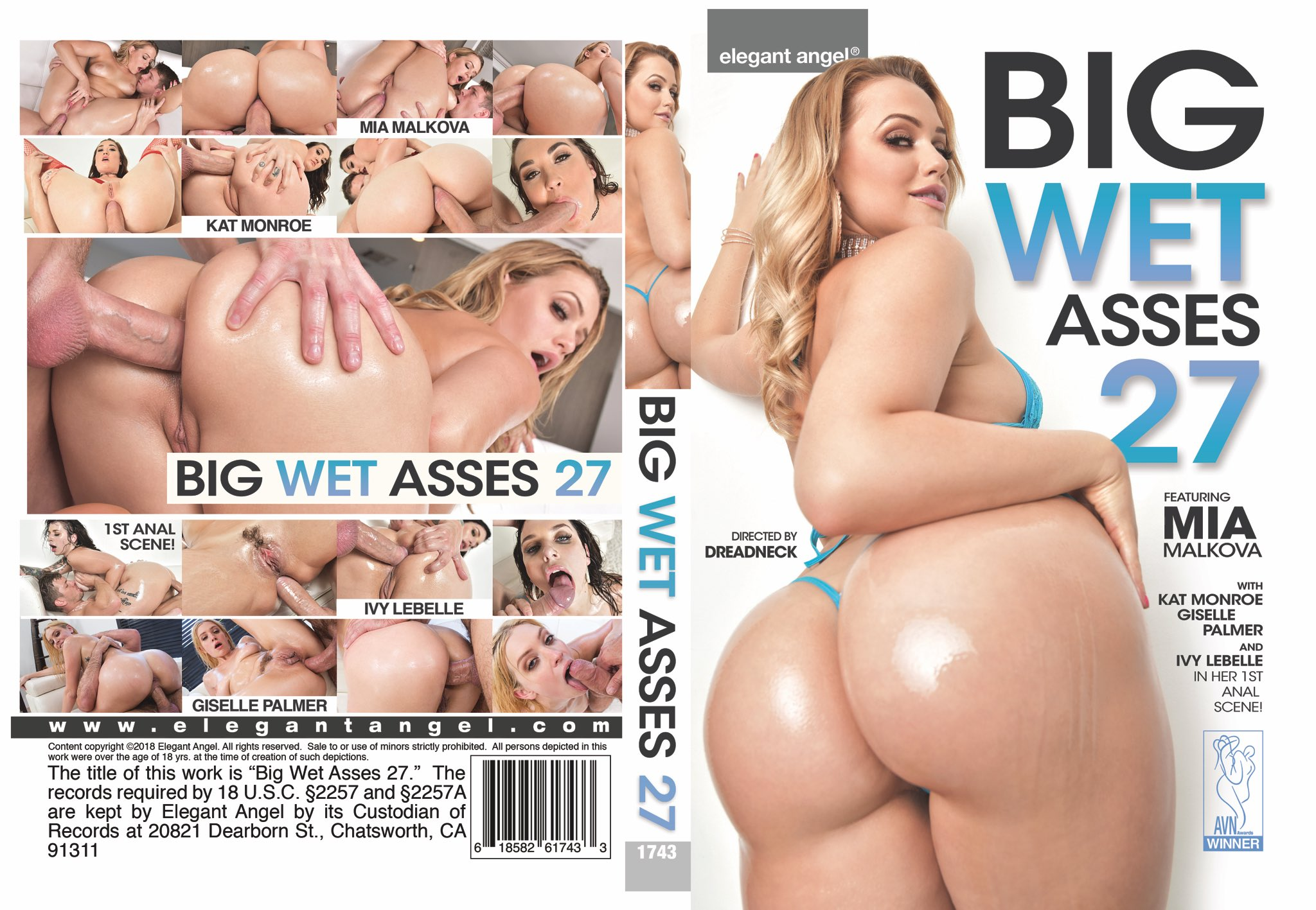 Elegant Angel On Twitter Big Wet Asses 27 Is Out March 26th With Miamalkova Gisellexpalmer Katmonroexxx And The First Filmed Anal Scene Of