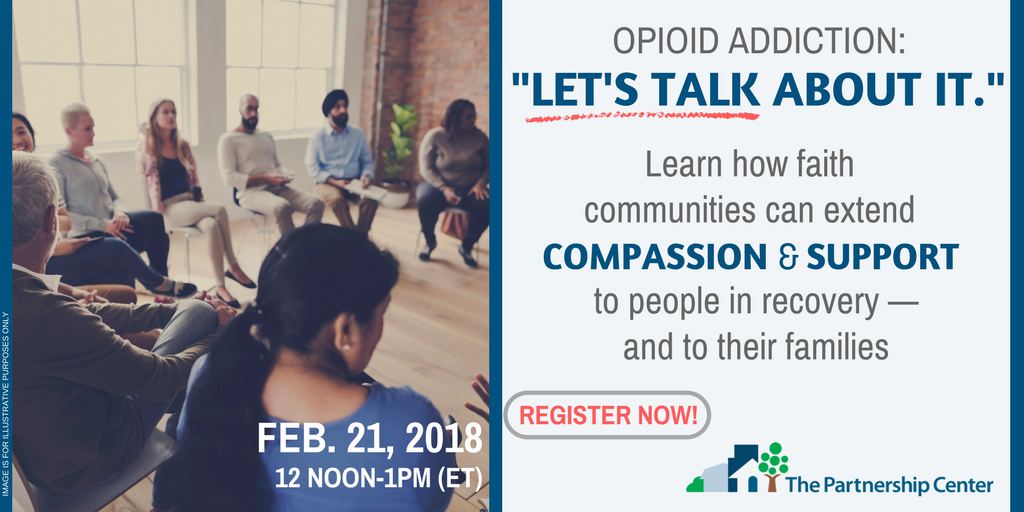 #HappeningToday Theres still time to attend todays webinar at 12 Noon ET. Learn how faith groups are serving their communities as intentional, restorative partners in #recovery from #OpioidAddiction. REGISTER NOW: ow.ly/SOVB30incIc @PartnersinHope