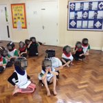 Fir class enjoyed their first Fencing lesson with coach today, we worked together to learn how to put the equipment on and off and safely.