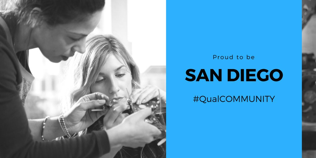 .@Qualcomm is San Diego's largest publicly traded company. From donating millions to philanthropic orgs, to employing 13K+ people locally, they are an integral part of our innovation economy. SD is–and should remain–a #QualCOMMUNITY. Share your love for our  & RT.