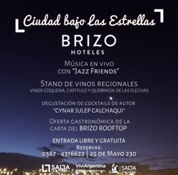 Prensa Gustavo Sáenz On Twitter Este Jueves A Las 20 Hs Se