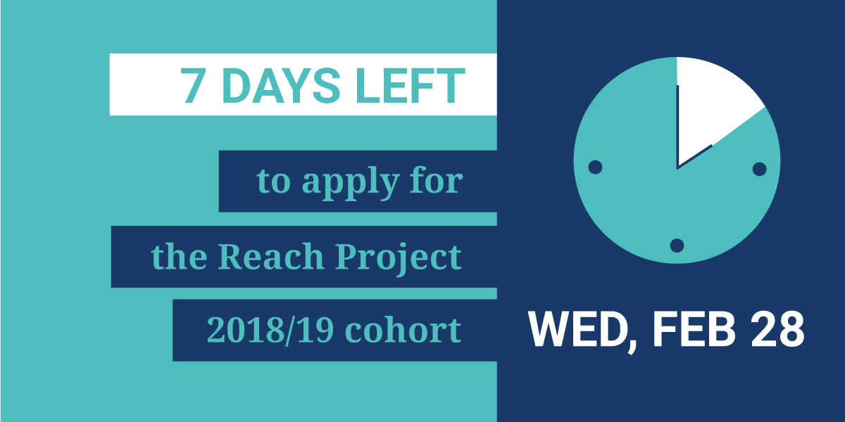 reach project Submit a project proposal student health and project reach is a saint paul public schools shelter and street-based program that promotes school stability and.