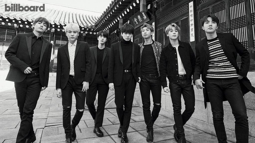 We're talking with BTS cover photographer @peterashlee today at 2:30pm ET through Facebook and Periscope!   Reply with your questions! #BTSonBillboard