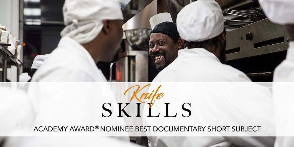 You can watch the Oscar Nominated Short @knifeskillsdoc online at @NewYorker!