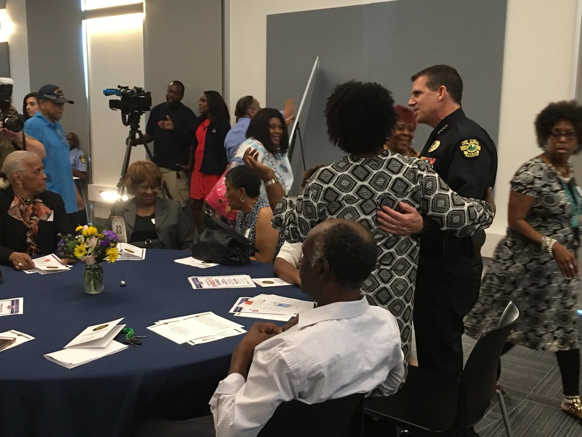 OPD Neighborhood Watch Leaders Forum, in which we honor our eyes and ears in the community. Thank you for all you do!