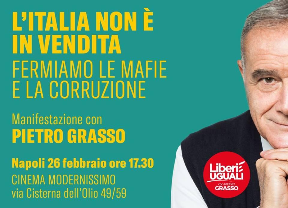 Lunedì a Napoli con @PietroGrasso https:...